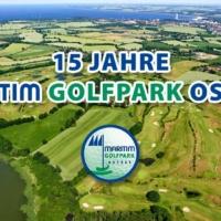 15 Jahre Maritim Golfpark Ostsee Banner