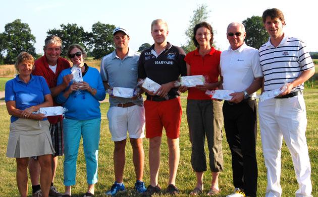 Sieger und Platzierte der Offenen Warnsdorfer 4er-Meisterschaft 2013