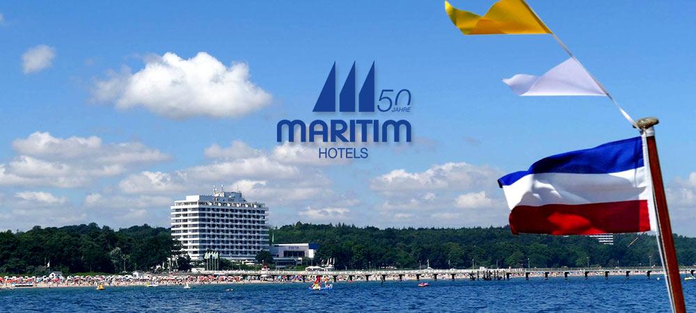 50 Jahre Maritim Hotels - Ansicht Seehotel