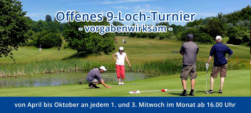 9-Loch Turnier 2019