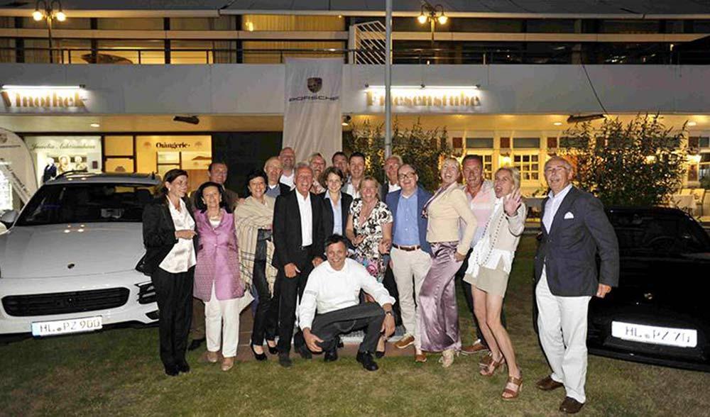 Siegerfoto 15. Porsche Golf Cup meets Orangerie