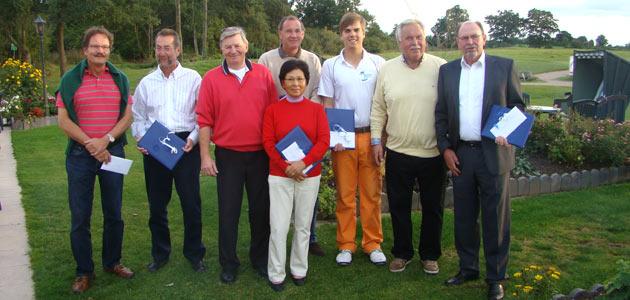Sieger und Platzierte Aktionärsturnier 2012