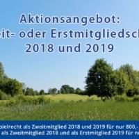 Aktionsangebot: Zweit- Oder Erstmitgliedschaft 2018 Und 2019 Ab 800,- €