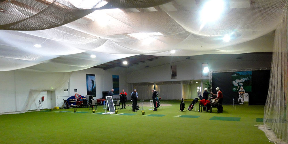 Wintertraining in der Maritim Golfhalle