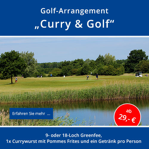 "Golf-Arrangement ""Curry & Golf"""