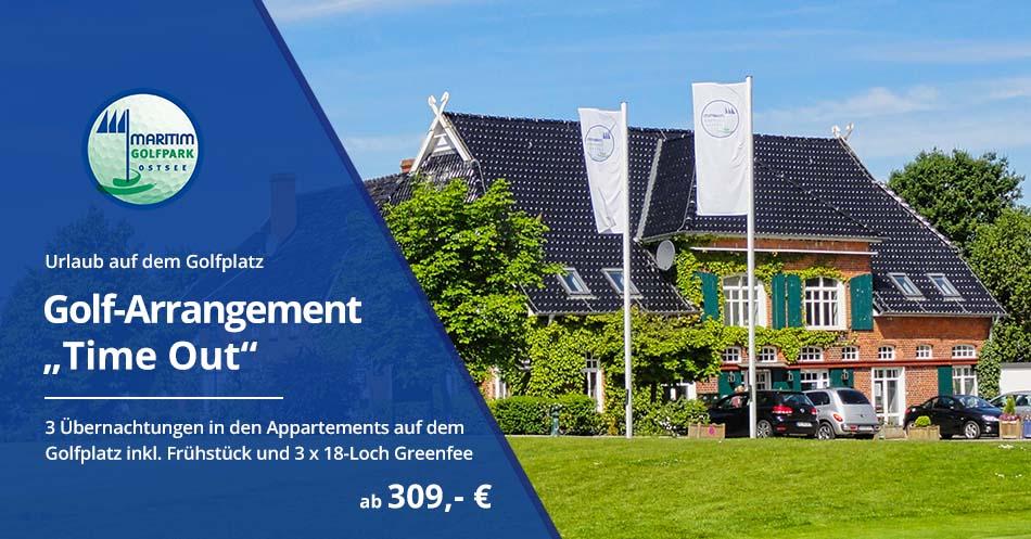 Banner Golf-Arrangement Time Out ab 309,- €
