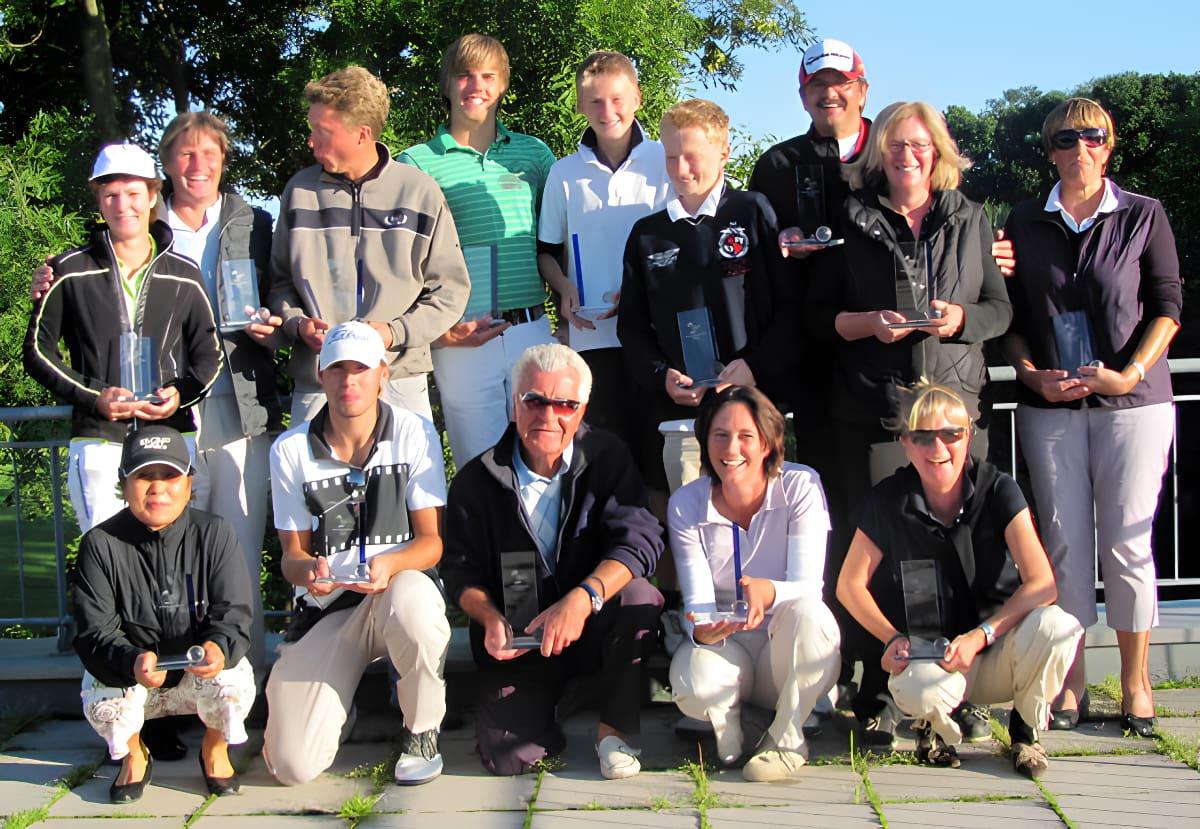 Clubmeisterschaften 2010 - Sieger und Platzierte