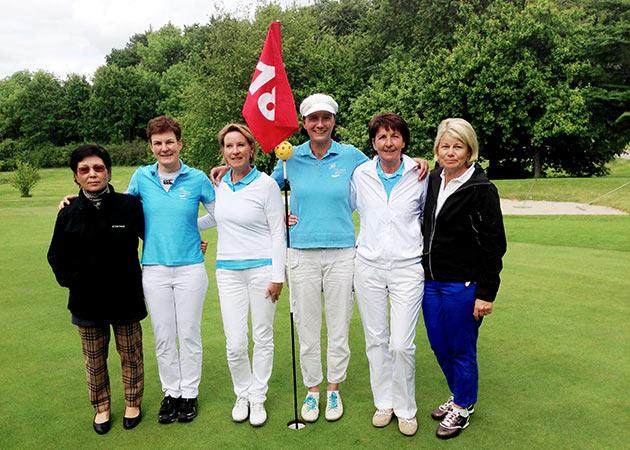 Maritim Golfclub Damennmannschaft 2014
