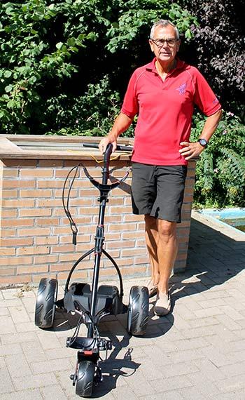 Holger Kalk Mit Motocaddy