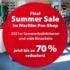 Teaser Summer Sale 2021 Im Maritim Pro-Shop