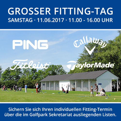 Fitting-Tag 2017 mit TaylorMade, Callaway, PING und Titleist
