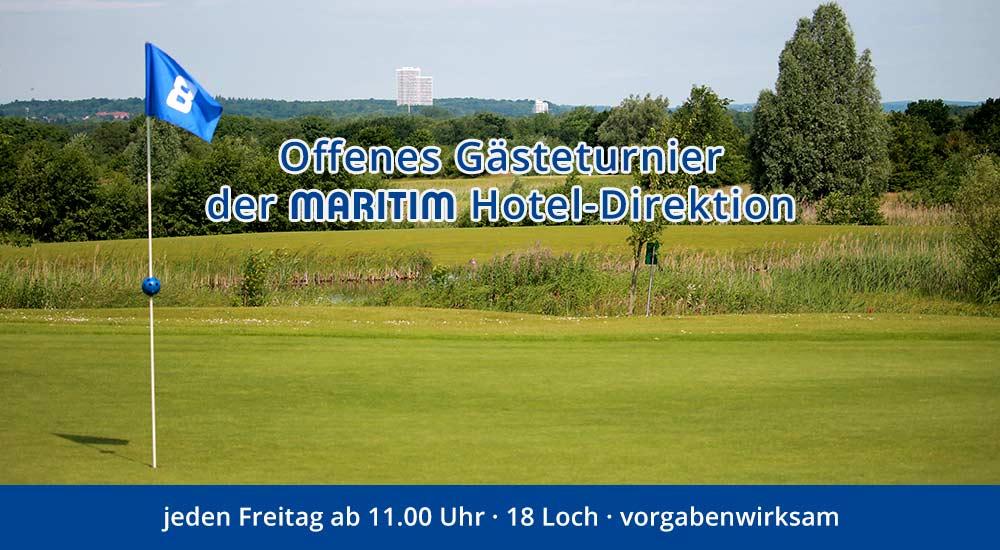 Offenes Maritim Gästeturnier der MARITIM Hotel-Direktion - jeden Freitag ab 11.00 Uhr