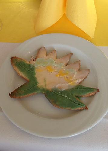 gebackene Seerose