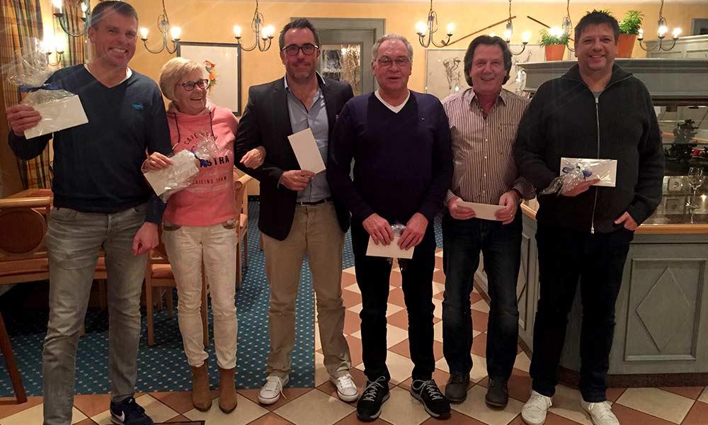 Sieger und Platzierte Martinsgans-Turnier 2017