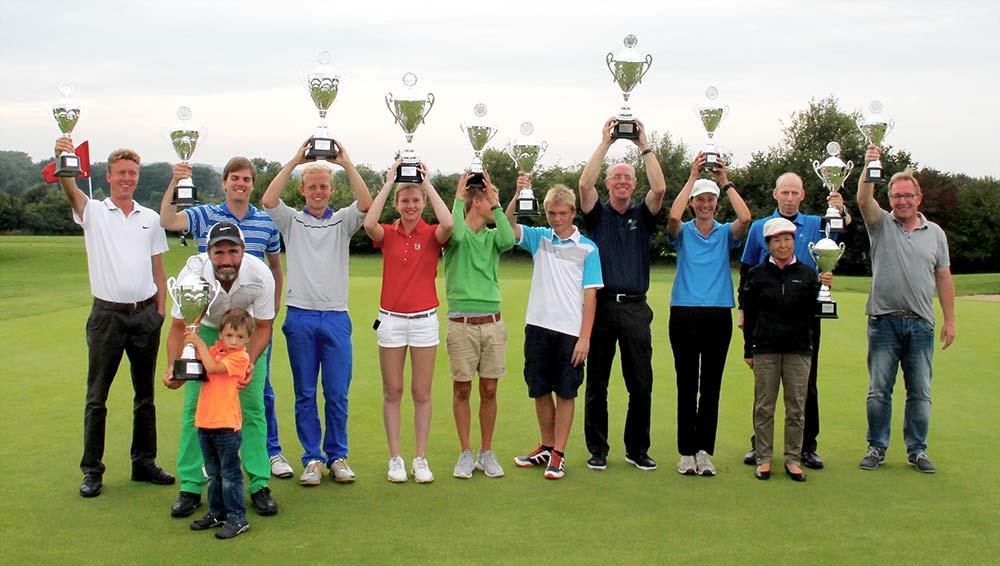 Clubmeisterschaften 2015 - Sieger und Platzierte