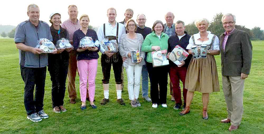 Gewinner Oktoberfest-Turnier 2015