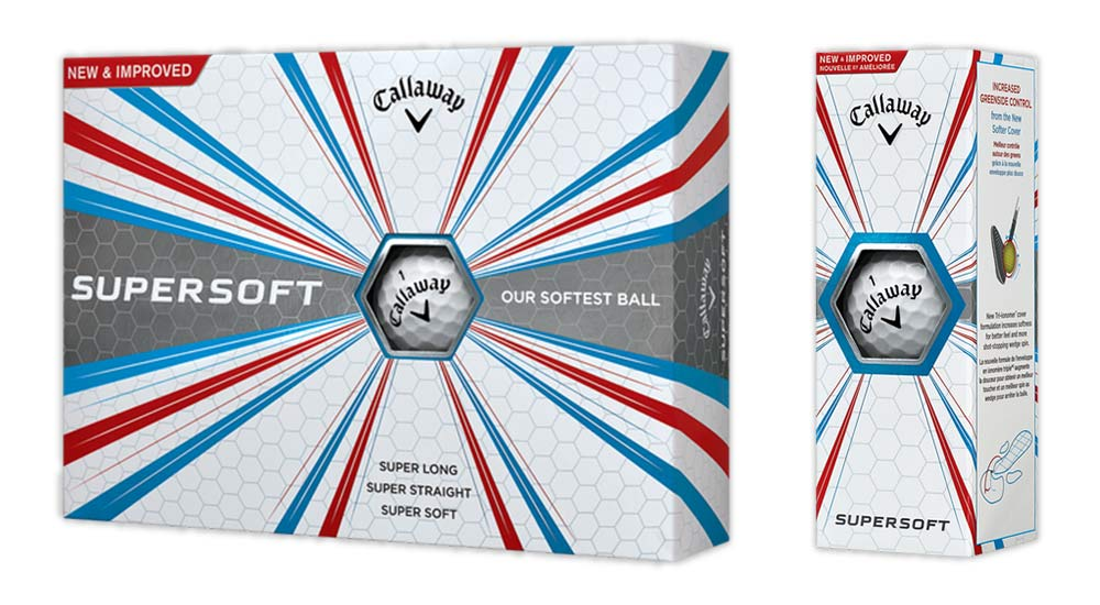 Golfball Callaway Supersoft