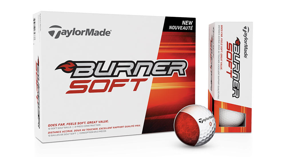 Golfball TaylorMade Burner Soft