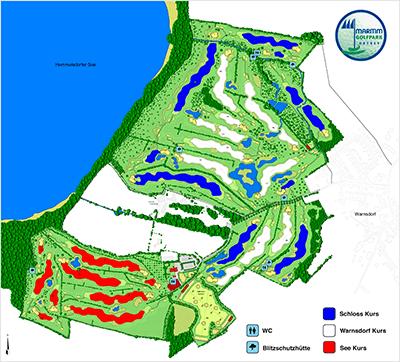 Maritim Golfpark Ostsee - Platzübersicht