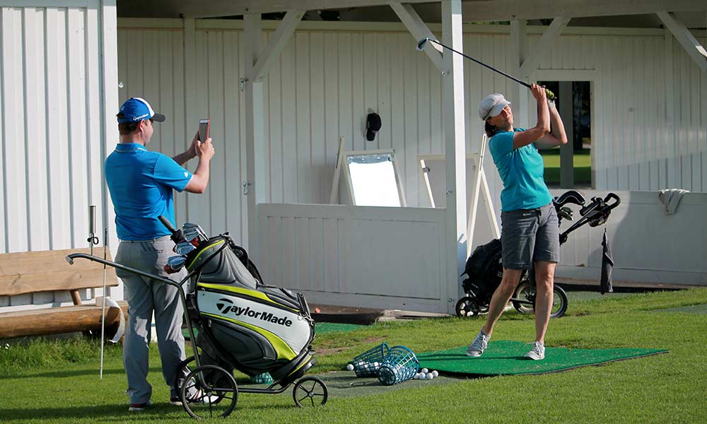 Golftraining mit Malte Mutke