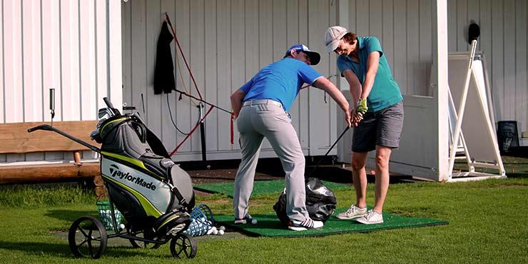 Golfunterricht mit Malte Mutke