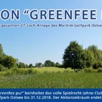 Sommeraktion Bis 03.09.2017: Greenfee Pur – Volles Spielrecht Im Maritim Golfpark Bis 31.12.2018 Für Nur888,-€!