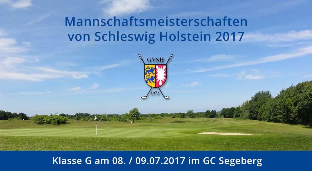 GVSH Mannschaftsmeisterschaften 2017