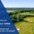 Luftbildaufnahme Grün Schloss 4 / Ankündigung HSV - Golf Open 2021