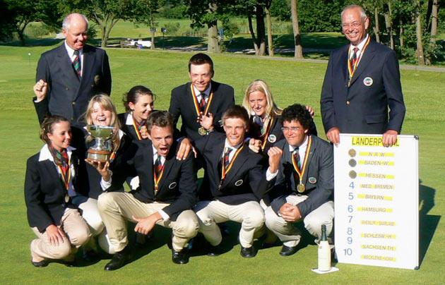 Nordrhein-Westfalen gewinnt den 28. Jugendländerpokal 2010