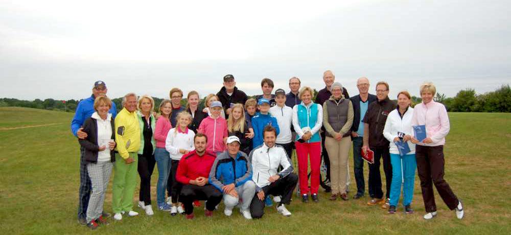 Jugend-Fördercup 2015 - Sieger und Helfer