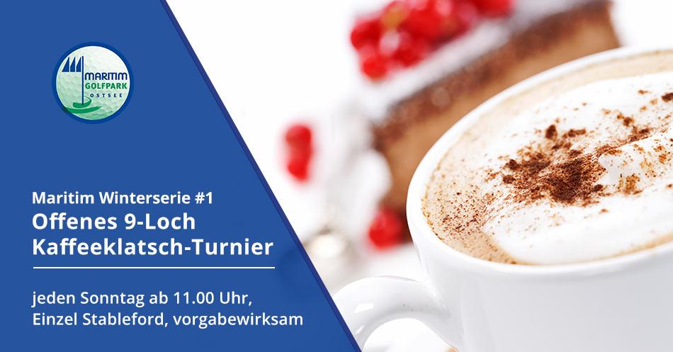 Banner 9-Loch Kaffeeklatsch-Turnier