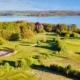 Luftaufnahme Blick über Den See Kurs / Hemmelsdorfer See