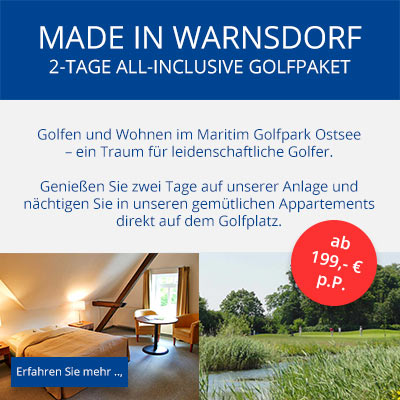 Golf-Angebot Made in Warnsdorf
