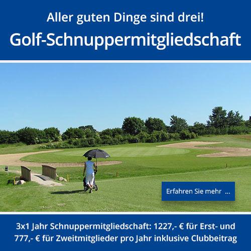 Maritim Golf-Schnuppermitgliedschaft