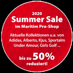 Teaser Summer Sale 2020 im Maritim Pro-Shop