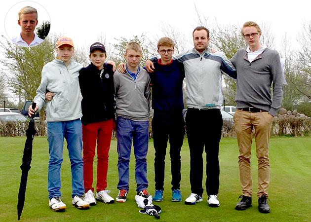 MGO AK18 Mannschaft der Jungen 2015