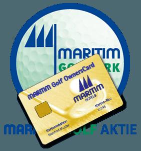 Logo Maritim Golfpark Ostsee / OwnersCard