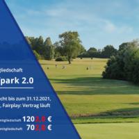 Banner Mitgliedschaft Maritim Golfpark 2.0 / Ansicht Bahn Schloss 4