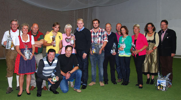 Gewinner Oktoberfest-Turnier 2012