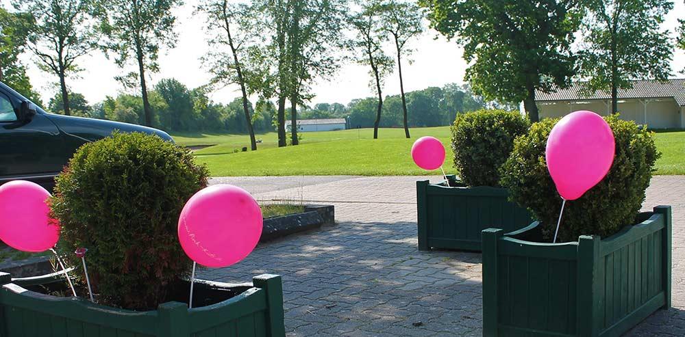 Pink Ribbon Turnier 2019 - Ballons