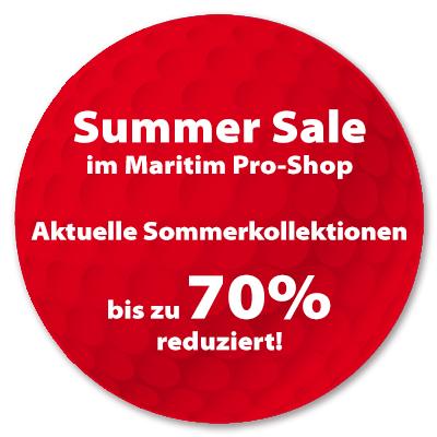 Banner Summer Sale im Maritim Pro-Shop