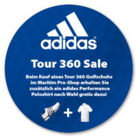 Pro-Shop Adidas Tour 360 Aktionsbanner