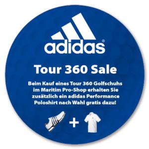 Pro-Shop adidas Tour 360 Aktionsbanner
