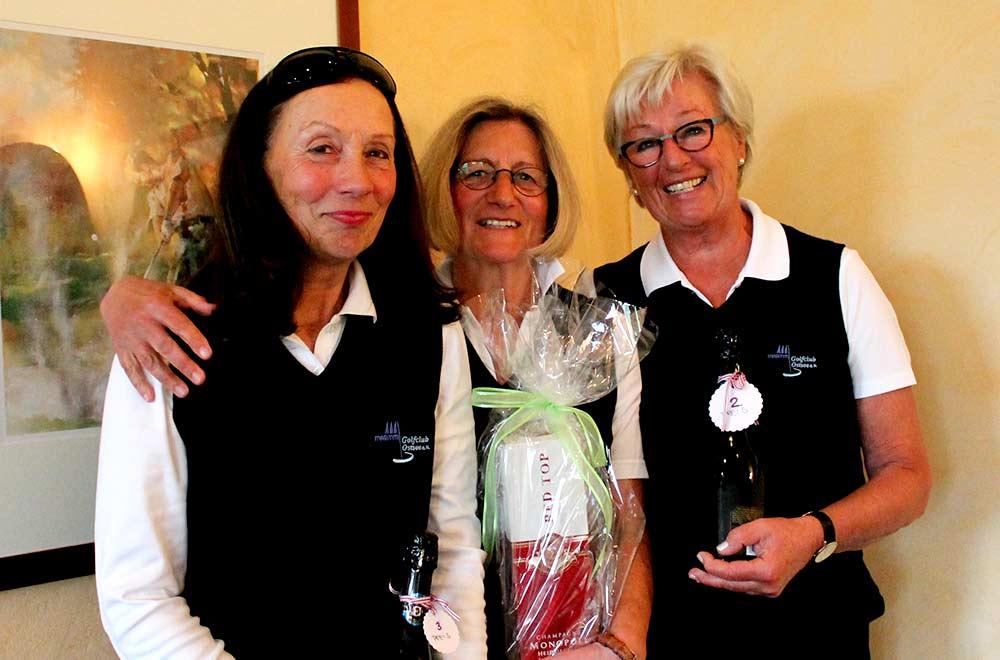 Gewinnerinnen des Saisoneröffnungsturniers der Seerosen