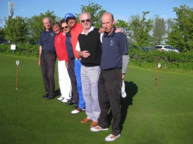 Maritim Golfclub Seniorenmannschaft 2014