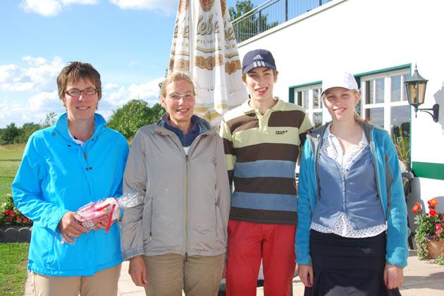 Sieger und Platzierte des 2. C&C Turniers 2012