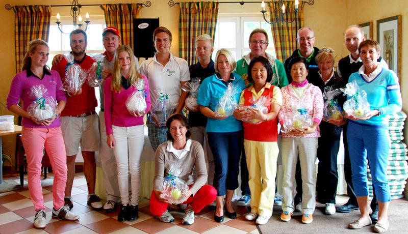 Clubmeisterschaften 2013 - Sieger und Platzierte
