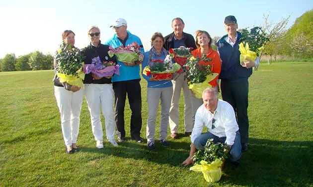 Die Sieger und Platzierten des Greenkeeper Turniers 2014