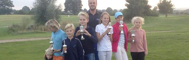 Sieger und Platzierte der Mini-Clubmeisterschaften 2014