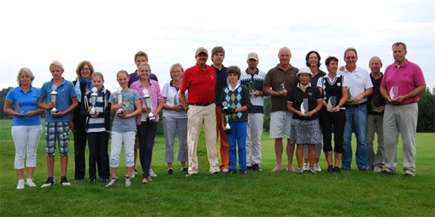 Clubmeisterschaften 2011 - Sieger und Platzierte